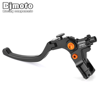 BJMOTO Universal 7/8 22mm Motorcycle Foldable Clutch Lever Cable Clutchs Handle For Motorbike Street Sport Bike
