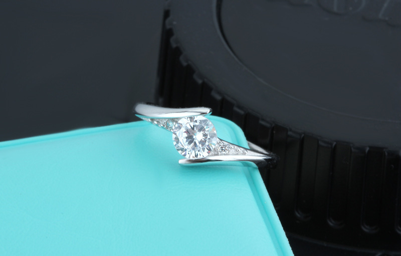 Cute Female Small Zircon Stone Ring 925 Silver Wedding Jewelry Promise Engagement Rings For Women 19 Valentine's Day Gifts 4
