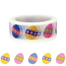 20pcs/set DIY Decorative Sticker Handbook and Paper Washi Tape for Easter Eggs Decoration