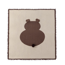 Baby blanket 2017 new cute cartoon bear swaddle covered newborn infant soft sleeping mat cotton baby climbing carpet