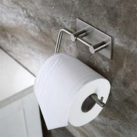304 Rvs Handdoek Ringen Gratis Nail Naadloze Waterdichte Toiletpapier Handdoekenrek Voor Badkamer Keuken
