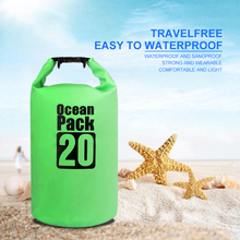 2L/5L/10L/20L Outdoor Dry Waterproof Bag Dry Bag Sack Waterproof Floating Dry Gear Bags for Boating Fishing Rafting Swimming