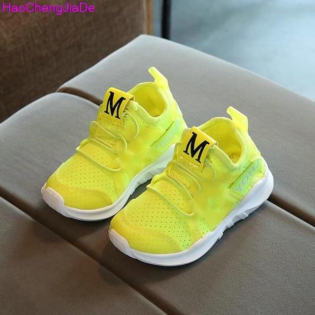 bba4f850 HaoChengJiaDe Chicas Zapatillas Otoño Zapatos Para Niña zapatos Respirables Del  Deporte zapatos de Bebé Inferiores Suaves