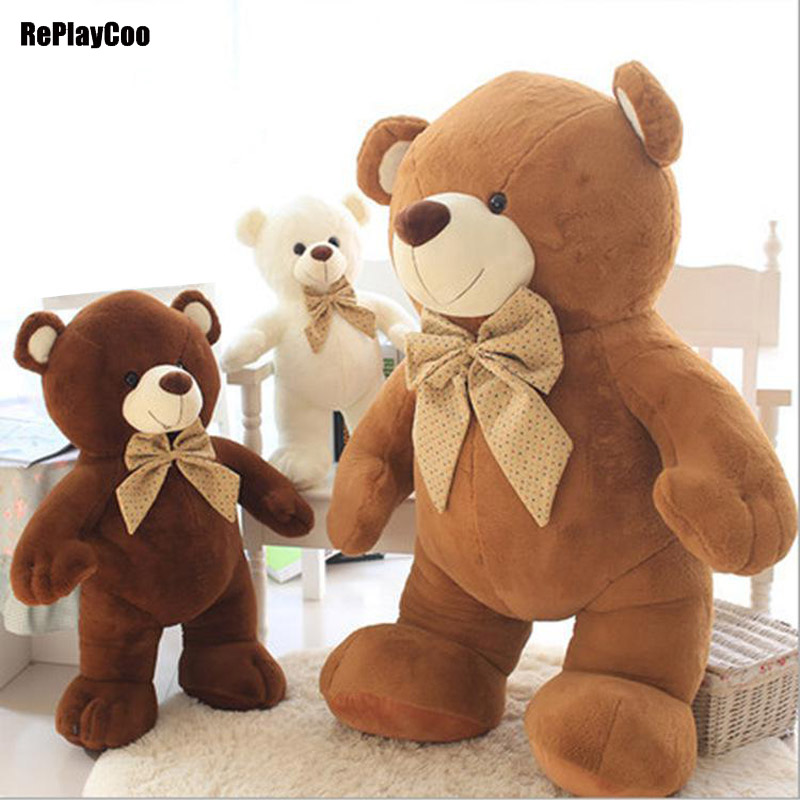 10Pcs/Lot 84 Inch Gaint Joint Teddy Bears Stuffed Real Life Plush Only Skin Without PP Cotton Toy Teddy-Bear Ted Bears Toys DX01 цена