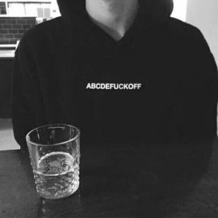 abcdefuckoff hoodie fuck off hoodie tumblr sweatshirt hipster