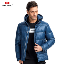 MALIDINU 2017 New Collection Men Down Jacket 70% White Duck Down Winter Down Coat Parka Thick Jacket European Size Free Shipping