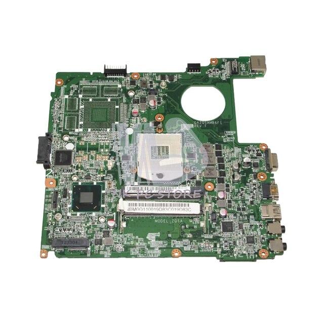 US $62 1 10% OFF|NOKOTION NBM0Q11001 NB M0Q11 001 For Acer aspire E1 431 E1  471 Laptop Motherboard DAZQSAMB6F1 HM77 UMA DDR3-in Motherboards from