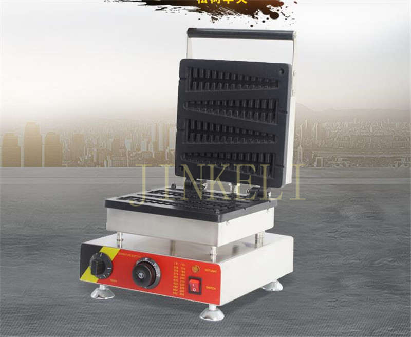 Free air ship 220v 4 PCS Lolly Waffle Maker 1500w Waffle Stick Hot dog Waffle Machine pine tree waffle making machine for sale