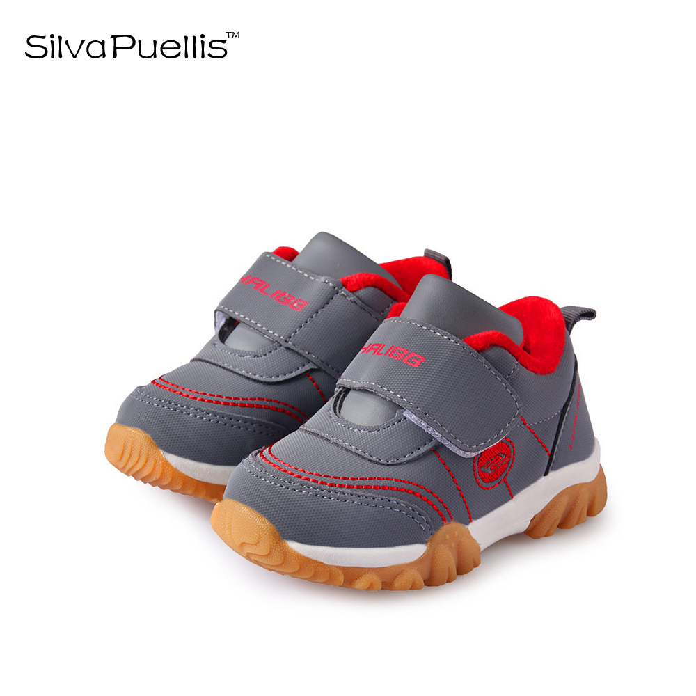 SilvaPuellis Children \'s Shoes 2018 New Boy Winter Shoes Hook Ring ...