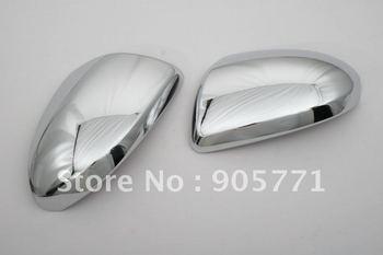 Высококачественная хромированная крышка зеркала w/вырез Ver. для Mazda 3 2010 Up Бесплатная доставка