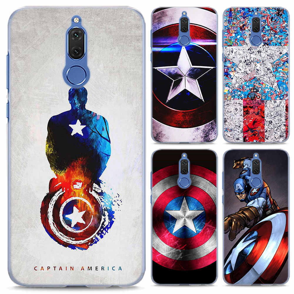marvel Captain America Phone Case for Huawei Mate 20 Pro 20 Lite 10 Pro  hard PC case for Huawei Mate 10 Lite Case Cover