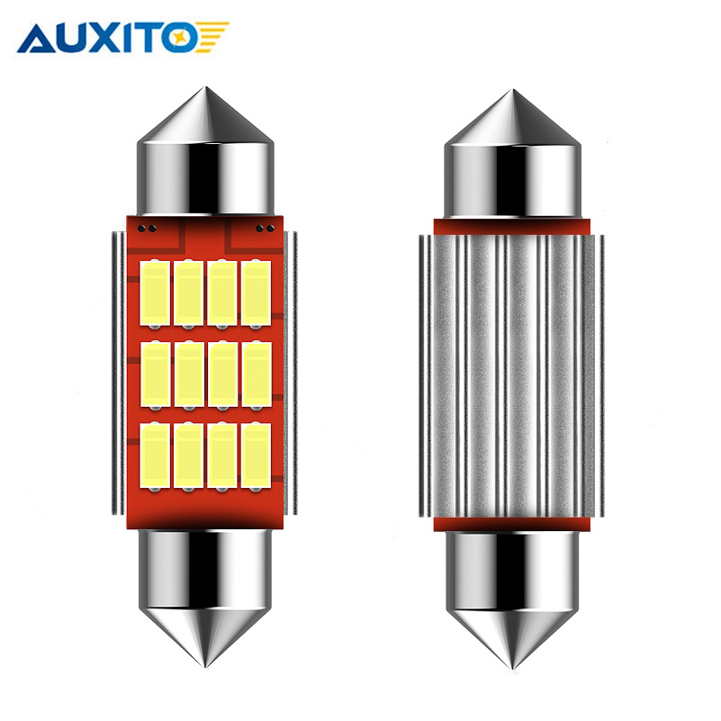 2PCS C5W <font><b>LED</b></font> Festoon CANBUS 36mm NO Error 4014 SMD Car <font><b>LED</b></font> Reading Doom Lamp for Mercedes Benz w212 w210 w124 <font><b>w202</b></font> w203 w169 AMG image