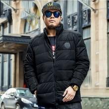 Зима мужской плюс ширина/плюс Большой/Свободная/Удобный/согреться/Ветрозащитный/плюс толстый/большой размер/вниз куртка 6XL/tb221120