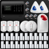 DHL EMS WiFi GSM GPRS SMS Wireless Home Security Alarm System Remote Control Wireless Wifi IP