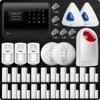 DHL EMS WiFi GSM GPRS SMS Wireless Home Security Alarm System Remote Control Wireless Wifi IP