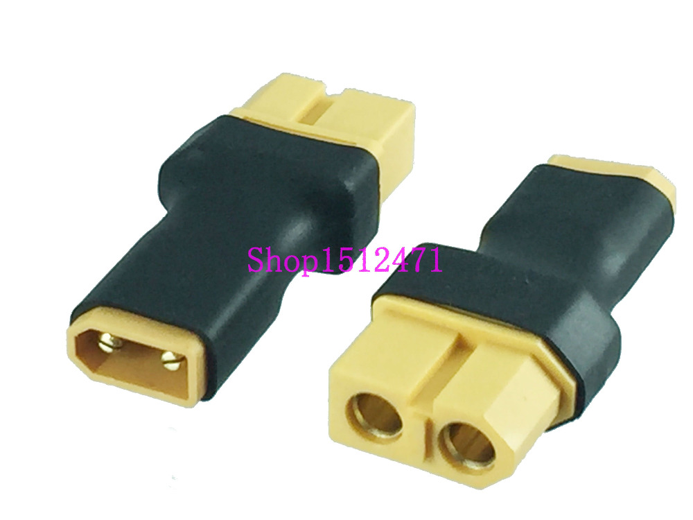 1PCE XT60 XT-60 Female To XT30 XT-30 Male No Wire Adapter For Turnigy Drone FPV