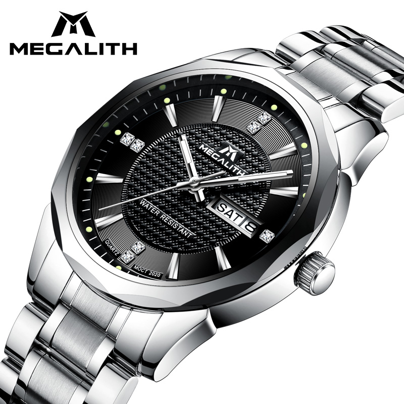 MEGALITH Wrist Watch Gents Sports Waterp
