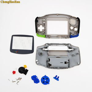 Image 4 - ChengHaoRan 1set Grey For Gameboy Advance  Plastic Shell Case Housing w Screen For GBA case Cover with screwdriver