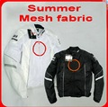 Nova malha de verão ternos de corrida de Moto anti-queda roupa Da Motocicleta jaqueta de equitação Cavaleiro roupas Inclui equipamentos de Proteção