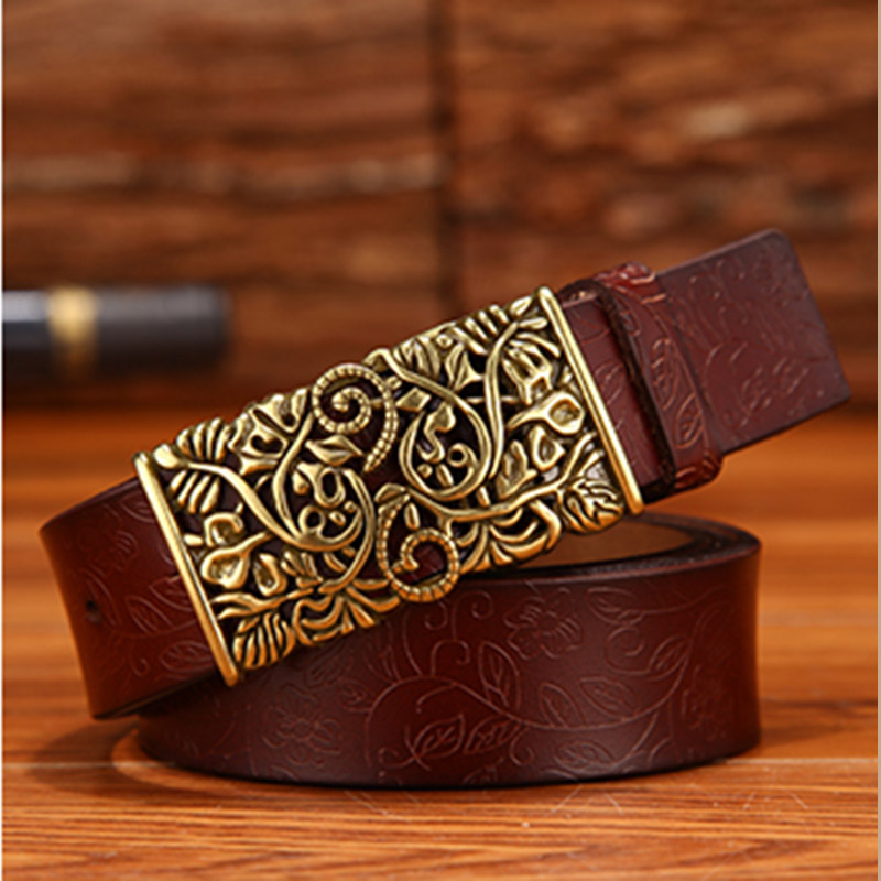 MINGLILONG Female Dress Decorations Belt Buckles Metal Luxury Brand Women Strap Belt