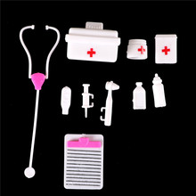 Doctor-Toys Medicine-Box Role-Play Girls Kids Doll-Accessories Plastic for 1set