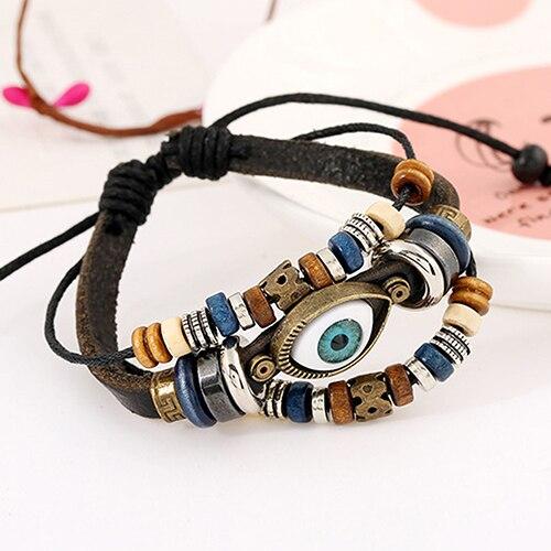 Leather Adjustable Bracelet 5