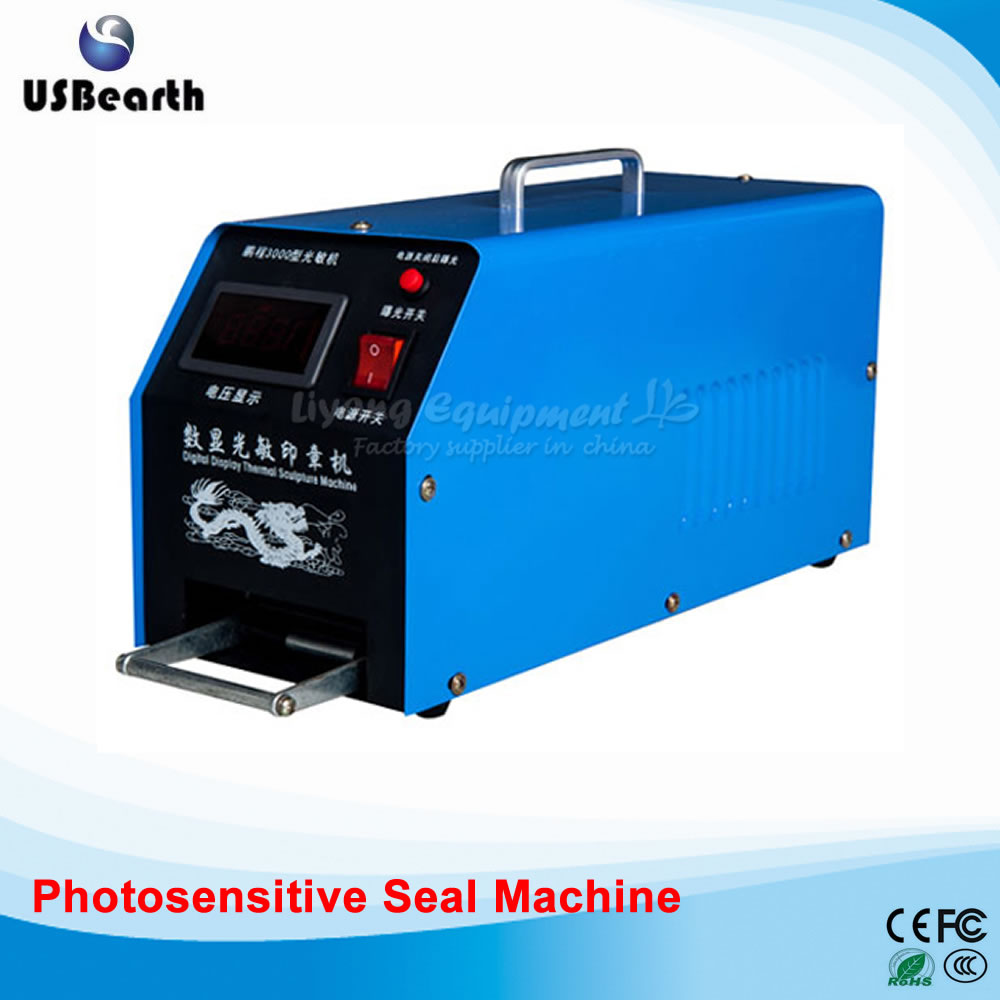 Small laser engraved chapter graphics rendering photosensitive seal machine new 220v photosensitive portrait flash stamp machine kit self inking stamping making seal holder film pad no ink