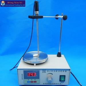 Image 3 - Lab agitator Digitale magnetisch roeren apparaat Temperatuur display verwarming magnetische garde Laboratorium beker mengen gereedschap