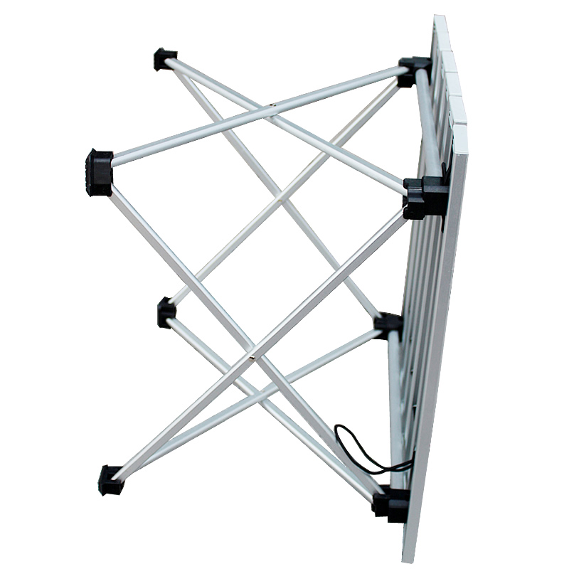 Image 4 - folding table legs folding table chair hiking table aluminum  camping table-in Outdoor Tables from Furniture