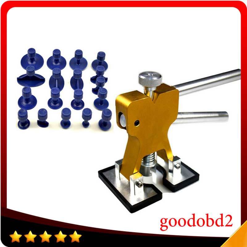 PDR Tool Newest 18pcs Set Design Golden Car Paintless Dent Repair Tools Auto Dent Lifter Removal