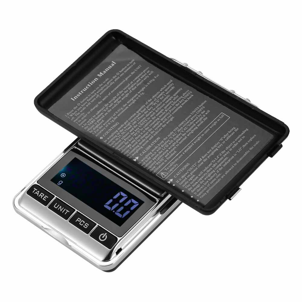 Digital Kitchen Scale Pocket Jewelry Food Scale Electric Baking Scale Steelyard 100g to 1000g