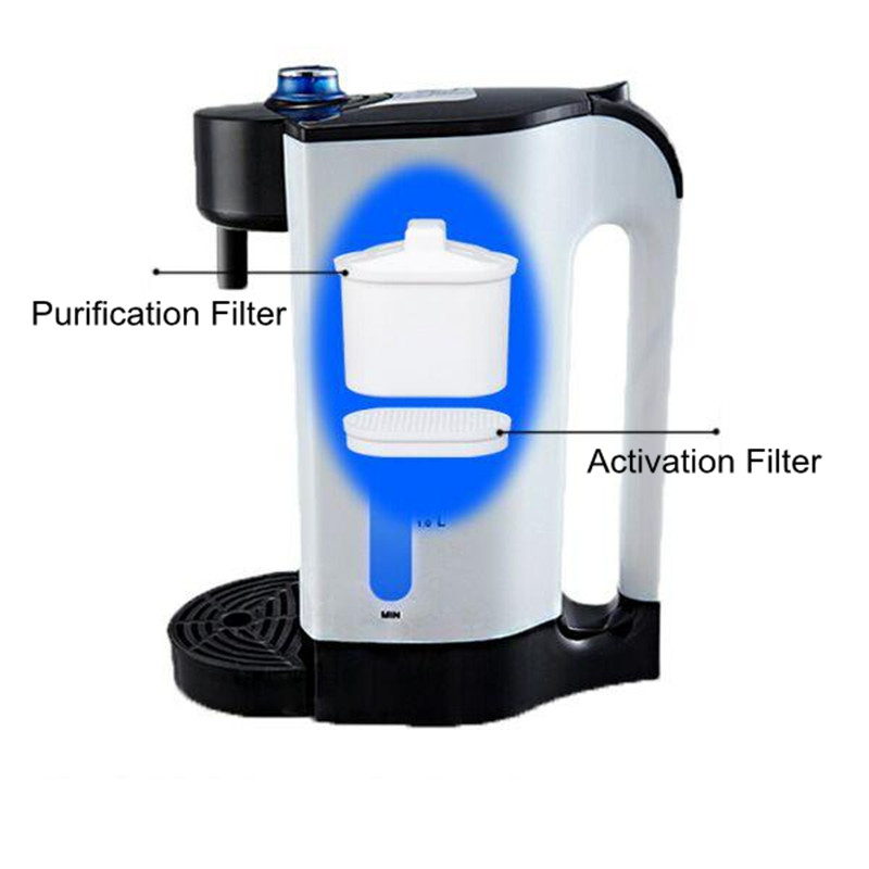 cost effective alkalized water ionizer machine Purification Activation Filter for electric instant boiled water kettle Alkalized Softened of boiling drinking water quality