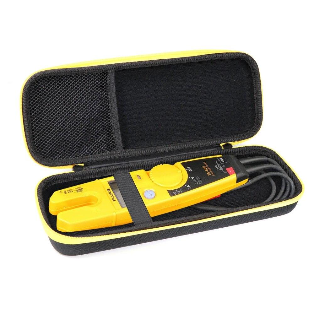 EVA Saco de Viagem Caixa de Armazenamento Capa Protetora Rígido Carry Case Macio Para Uso Alicate Amperímetro Fluke T5-1000 T5-600