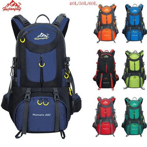 mochila de trekking 60l a prova dwaterproof agua esportes mochila viagem escalada montanha 40l caminhadas