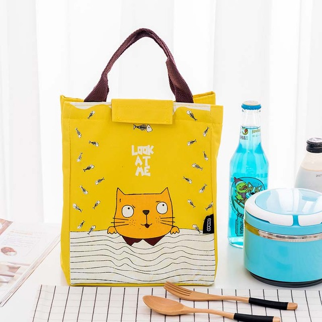 Animial Tote Baby Bags for Mom Bottle Bag Insulation Bags Aluminum Foil Infant Baby Food Warmer Thermos Lunch Box Thermo Bag
