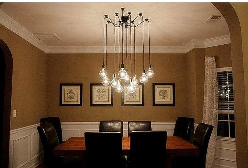 Lampade A Sospensione Vintage : Lukloy lampade a sospensione vintage più edison fai da te