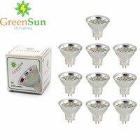 10Pcs Set 2.5W 3W MR11 Led Spotlight GU4 LED Bulb 2835 SMD Lamp Energy Saving Spot Light Bulb Cool/Warm White AC/DC 12-30V