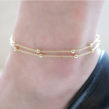 Anklet bracelet FC05 free shipping foot chain body jewelry bead foot jewelry