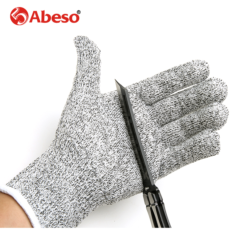 High strength Polyethylene material Wire Safety Work Anti-Slash Cut Static Resistance Wear-resisting Protect Gloves Hand Safely personal cut resistant work gloves static resistance glove stainless steel wire safety work anti slash cut proof fc
