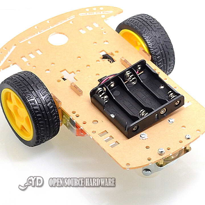 Motor Smart Robot Car Chassis /Tracing car box Kit Speed Encoder Send the Battery Box For