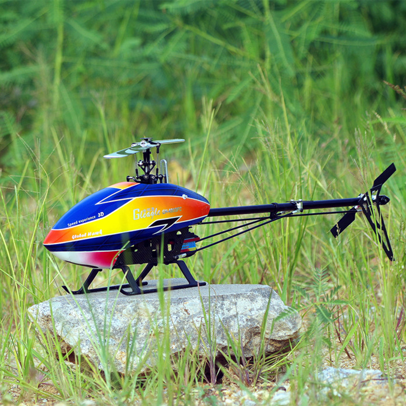 Global Eagle 480E DFC 6ch RC Helicopter 3D profesional heli drones RTF Set (6CH RC /1700KV motor /60A ESC/Carbon fiber body)  global eagle 2 4g 480e dfc 9ch rc helicopter remote 3d drones rtf set 9ch rc 1700kv motor 60a esc carbon fiber body