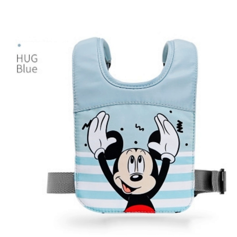New Disney Stitch Anti-Lost BackPack Cartoon Coral Fleece Bag With Traction Rope