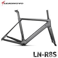 Mountain Bicycle Frameset Carbon Road Bike Frame T800 QR Or Thru Axle Disc Brake Carbon Fibre