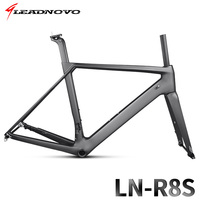Mountain Bicycle Frameset Carbon Road Bike Frame T800 QR Or Thru Axle Disc Brake Carbon Fibre