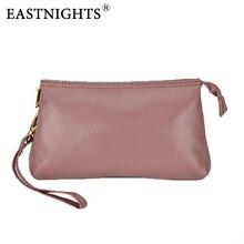 EASTNIGHTS Genuine Leather Women Clutch Bag Evening Womens Handbag Shoulder Female Messenger bolsas Clutches TW2520