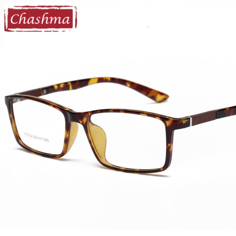 4cdb55ff802 Chashma Slim TR 90 Light Eye Glasses Rectangle Frame Girl and Boy Students Eyewear  Prescription Glasses