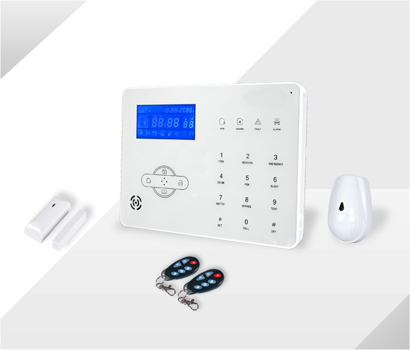 433mhz MeiAn ST-IIIB Touch Panel GSM/PSTN burglar home Alarm system smart phone control GSM /PSTN auto switch alarm system wireless gsm pstn auto dial sms phone burglar home security alarm system yh 2008a