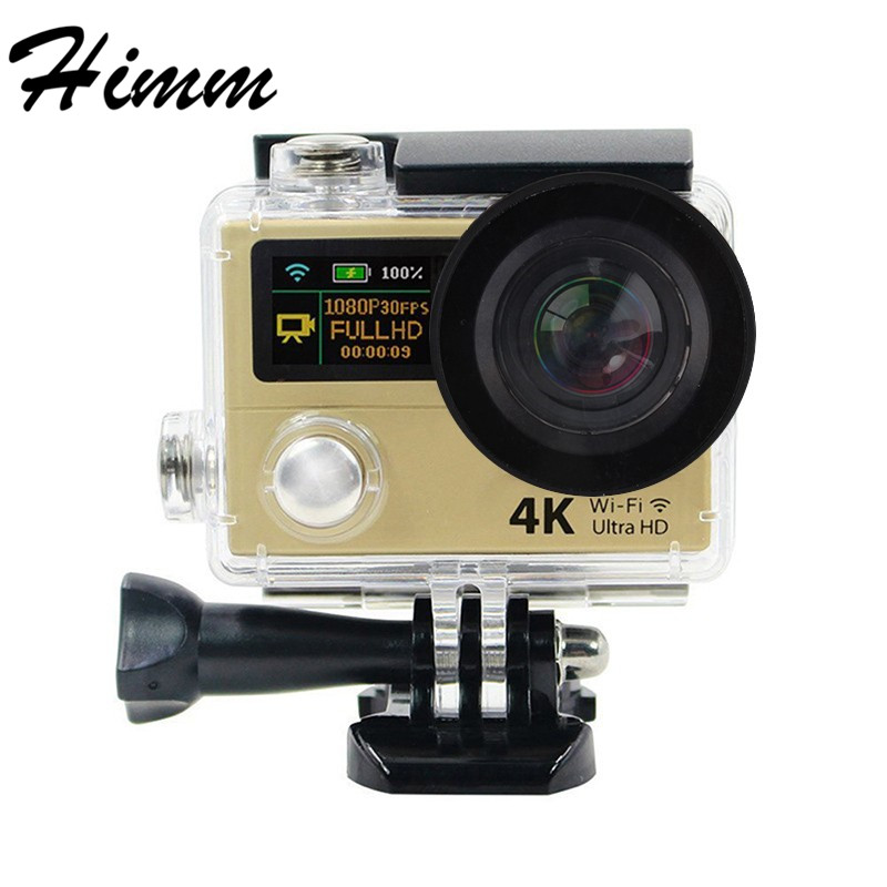 H3R Action camera Ultra HD 4K WiFi 1080p Video Camera Sports DV With 2.4G Remote Control 2 Dual Screen Mini Cameras Camcorder hot ultra hd 4k camera action camera waterproof 16mp wifi extreme sports cam mini sport dv with remote control 3132