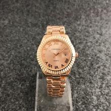 CONTENA Marca Mulheres Relógio de Luxo de Cristal de Diamante Senhoras Relógios Moda Rose gold Relógio De Quartzo Elegante Mulher Montre Femme