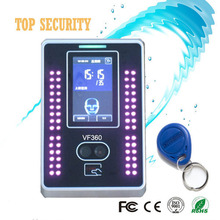 TCP/IP communication Face recognization access control with time attendance VF360 linux system 200 user capacity double camera